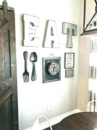 black wall art decor kitchen iron unique wrought large rustic french plate extra metal