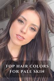 Top Trending Hair Colors For Pale