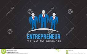 Entrepreneur Logo Design Business People Entrepreneur Company Vector Logo Stock