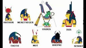 Ancient Egyptian Gods And Goddesses Names Youtube