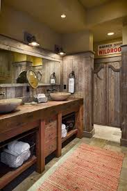 Exellent Country Bathroom Ideas Best 25 Rustic Designs On Pinterest With Decorating