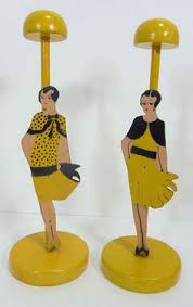 Wooden Hat Stands For Display 100 Vintage Art Deco Wood Figural Woman Hat Holder Stand Reminds 34