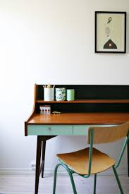 I have an old secretary's desk that I need to repaint.. like the idea