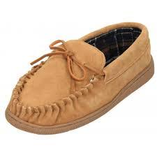 jwf mens real suede leather moccasin cosy house slippers men s footwear from jenny wren footwear uk