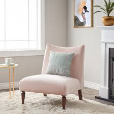 awesome blush pink accent chair for your interior decor blush pink velvet accent chair with