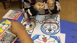 children's world / tập tô truyện tranh doremon/ tô màu doremon - Dạy tô màu  và vẻ tranh ảnh đẹp nhất - Kho gấu bông giá rẻ nhất Việt Nam