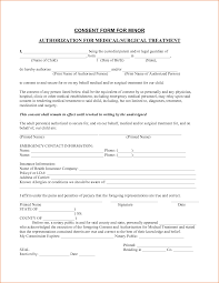 Medical Authorization Form Template 24 Medical Authorization Form Printable Receipt 21
