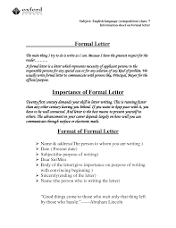 Addressing Formal Letter Dating Official Letters American English 23