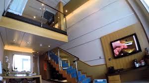 Skylofts 2 Bedroom Loft Suite Crown Loft Suite Tour Oasis Of The Seas Royal Caribbean Youtube