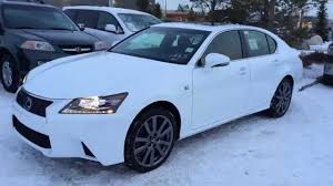 lexus 2015 white. new ultra white 2015 lexus gs 350 awd f sport series 2 review youtube