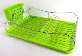 Plate Storage Rack Kitchen Kitchen Dish Drying Rack White Folding Plastic Dish Plate Storage