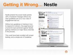 social media presentation topic  getting it right