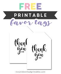 Thank You Black And White Printable Free Printable Thank You Tags Simple Black White Instant