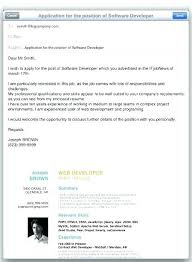Emailing Resume Template Email Resume Template Free Top Cover Letter When Sending By