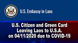We did not find results for: A Flight For U S Citizen And Green Card To Fly From Laos To The U S A On April 11 2020 Suab Hmong News