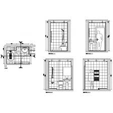 Free CAD Drawing Of A Bathroom Design Cadblocksfree CAD Blocks Free Magnificent Cad Bathroom Design