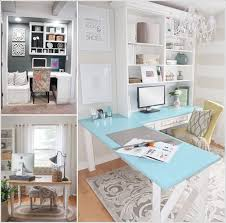 an l shaped colored top table with a bookcase above offering ample inside chic l shaped chic shaped home office