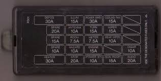 1989 mazda rx7 fuse box diagrams fixya