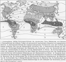 Die Klimate der Erde: Eine Klassifikation auf ökophysiologischer Grundlage  der realen Vegetation (Climates of the Earth — A C