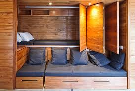 Hidden bed compartment is a perfect way to hide a bed in plain sight during  the