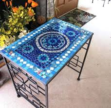 diy mosaic table patio furniture lovely design for mosaic table ideas best about intended stylish home