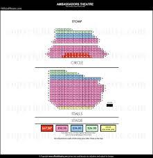 Ambassador Theatre Seating Chart Ambassadors Theatre Seat Plan Ambassadors Theatre