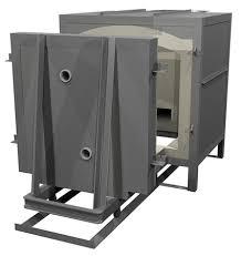 gas kiln. rolling car door gas kiln