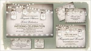 Free Mason Jar Wedding Invitation Printable Templates Vastuuonminun