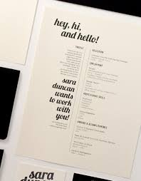 Resume Designs Fascinating 60 Beautiful Résumé Designs You'll Want To Steal