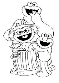 Elmo Halloween Coloring Pages Sesame Street Coloring Pages Funny