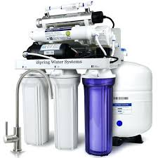 small size of 7 stage w booster pump alkaline re m filter and uv sterilizer 100gpd