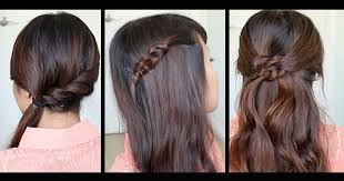 Everyday Hairstyles 29 Inspiration 24 Simple Easy Hairstyles For Girls Who Are Always In A Hurry