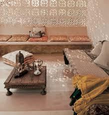 Bohemian moroccan seating area
