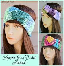 Crochet Headband Pattern Amazing Amazing Grace Twisted HeadbandFree Crochet Pattern