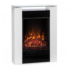 studio 5 electric fireplace fan heater 900 1800 w remote control white