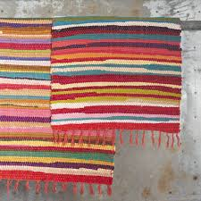 cotton rag rugs for rugs ideas