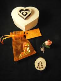fairy folly charm kit for courage wooden heart box gift set spell wicca pagan unusual presents spiritual