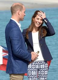 Prince William and Kate Middleton visit the Eden Project Daily.