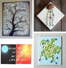 easy canvas wall art ideas