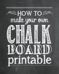 2nd birthday chalkboard sign template free how to make