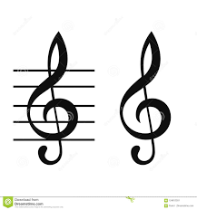 Treble Clef Music Treble Clef Music Note Vector Stock Illustration Illustration