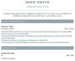 89 Exciting Example Of A Simple Resume Examples Resumes Simple