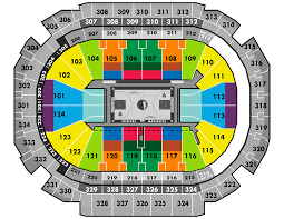 Aac Seating Chart With Seat Numbers Arena Map The Official Home Of The Dallas Mavericks