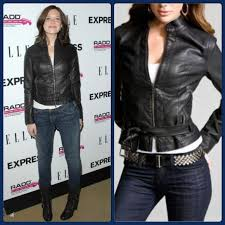 express jackets blazers express black minus the leather belted jacket