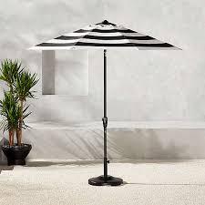 modern outdoor umbrellas sun shades cb2
