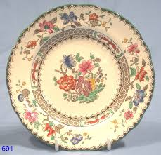 Spode China Patterns Impressive Copeland Spode Chinese Rose Tea Plate RD No 48 SOLD
