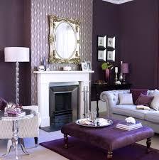 Plum Living Room Dark Purple Living Room Metal Arc Floor Lamp Brown Upholstered