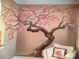 cherry blossom tree muraltime lapseartisan rooms  youtube