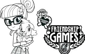 My Little Pony Equestria Girl Coloring Pages To Print My Little Pony
