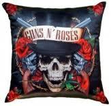"""Pillows / <b>Подушка</b> декоративная """"<b>GUNS N</b>' <b>ROSES</b>"""""""
